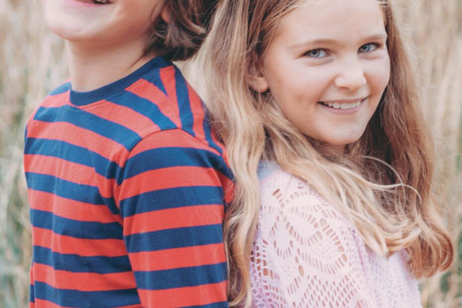 Portrait Geschwister