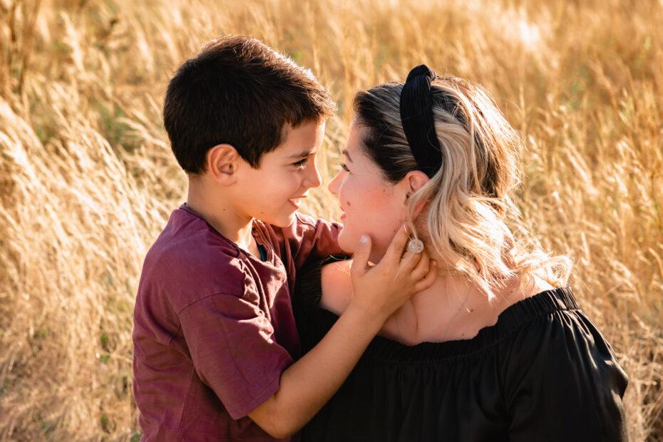 Mama mit Sohn